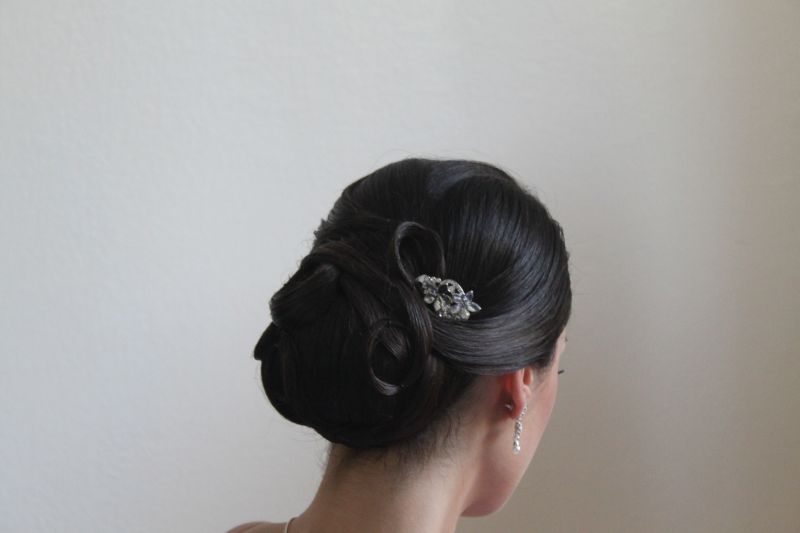 chignon bas lili in zi hair. Black Bedroom Furniture Sets. Home Design Ideas